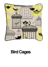Bird Cages Yellow Oatmeal